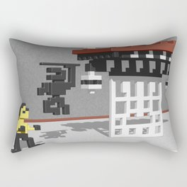 BruceLee Commodore 64 game tribute Rectangular Pillow