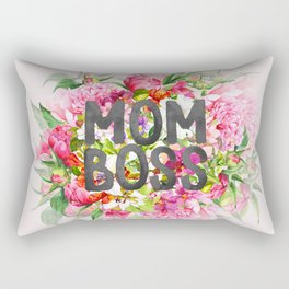 MOM BOSS Rectangular Pillow