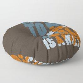 Is a mess Floor Pillow