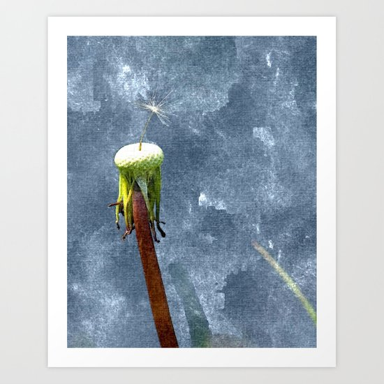 Always the last to know Art Print