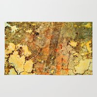 cracked Area & Throw Rugs featuring Cracked Wall by Robin Curtiss