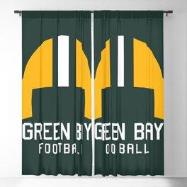 Green Bay Football Blackout Curtain