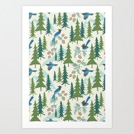 Sierra Forest Art Print