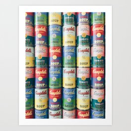 Limited Edition Campbell's Soup Cans Art Print