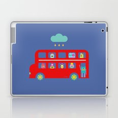 PINTMON_DOUBLE DECKER BUS  Laptop & iPad Skin