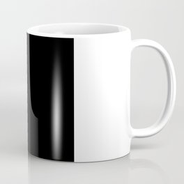 Minimalist Black Square Coffee Mug