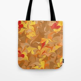 Flowers in the wind 9 Tote Bag