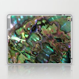 Oil Slick Abalone Mother Of Pearl Laptop & iPad Skin