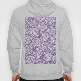 Violet roses Hoody