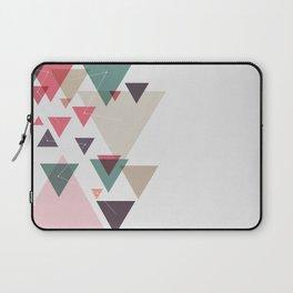Triângulos ligados Laptop Sleeve