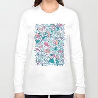 bubble Long Sleeve T-shirts featuring bubble by Anukun Hamala (NHD)