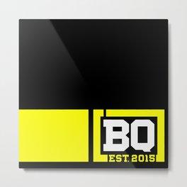 BQ - Flagging Yellow Metal Print