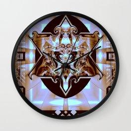 Euwa Law Cat Wall Clock