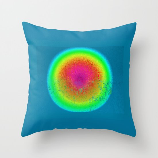 Aura of a Unicorn Throw Pillow