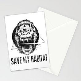 Save My Habitat Stationery Cards