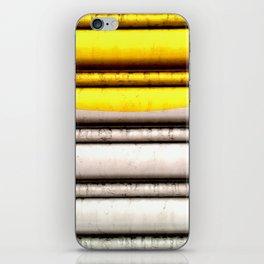 SPLASH - YELLOW iPhone Skin