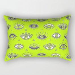 Eye Spy Fluorescent Rectangular Pillow