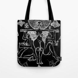 2013 Goddess of Balance (black design) Tote Bag