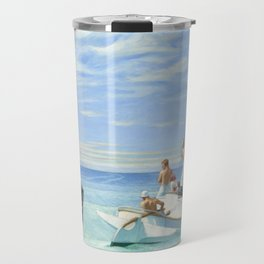 Edward Hopper Ground Swell 1939 Painting Travel Mug
