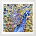 Amethyst Peacock by schulmanart