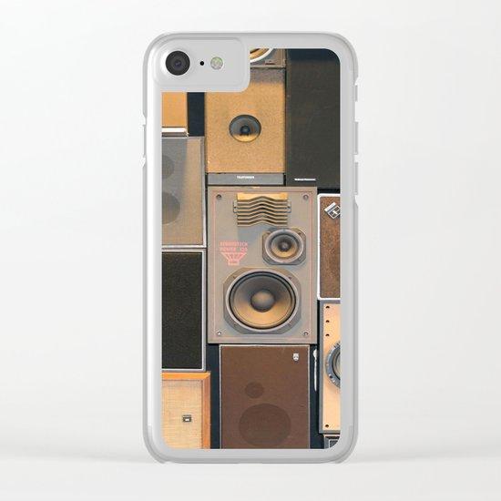 Audio Equipment Clear iPhone Case