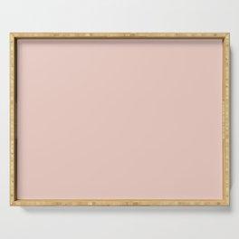 Pale Cornus (Pink) Color Serving Tray