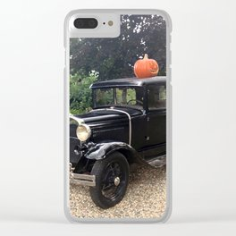 Nice Day for a Ride Clear iPhone Case