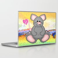 mouse Laptop & iPad Skins featuring Mouse by Digital-Art