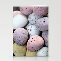 eggs Stationery Cards featuring Eggs! by Sara Messenger