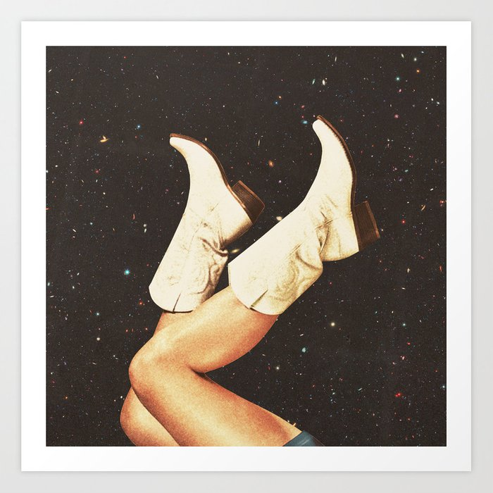 These Boots - Space Kunstdrucke