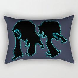 Attack the Block Rectangular Pillow