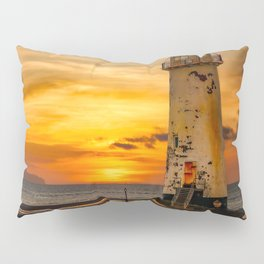 Sunset At The Lighthouse Pillow Sham