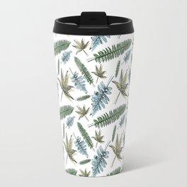 Spring Leaves Travel Mug