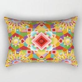 Art Deco Circus Rectangular Pillow