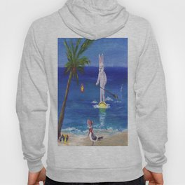 Easter Bunny at the Beach Hoody