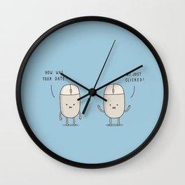 The Digital Age Wall Clock