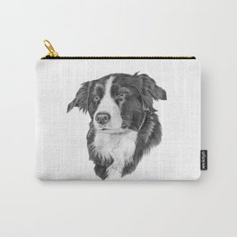 Border collie 2 Carry-All Pouch