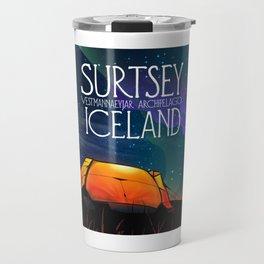 Surtsey Island Iceland,Estmannaeyjar archipelago. Travel Mug