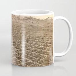 Map Of Salt Lake City 1875 Coffee Mug