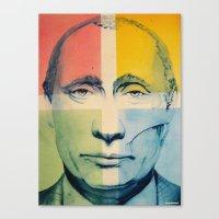 putin Canvas Prints featuring Putin by Thomas DesJardins