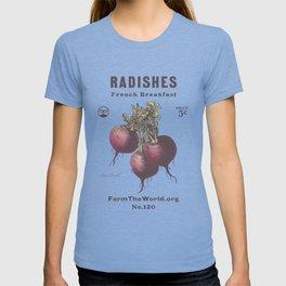 Farm the World Radish Seed Packet T-shirt