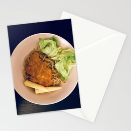 Pasta Love Photography Stationery Cards