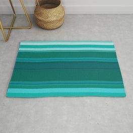 Stripes in colour 13 Rug
