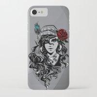 gypsy iPhone & iPod Cases featuring gypsy by Erdogan Ulker