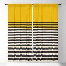 Mid Century Modern Art Print, Abstract Rainbow Arch wall art, Geometric Arch Print, yellow wall art, Blackout Curtain