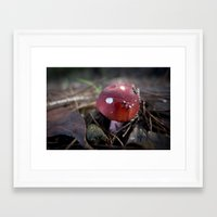 fairy tail Framed Art Prints featuring Fairy tail by Jean-Jacques Halans
