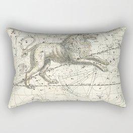 Leo Constellation - Celestial Atlas Plate 17 - Alexander Jamieson Rectangular Pillow