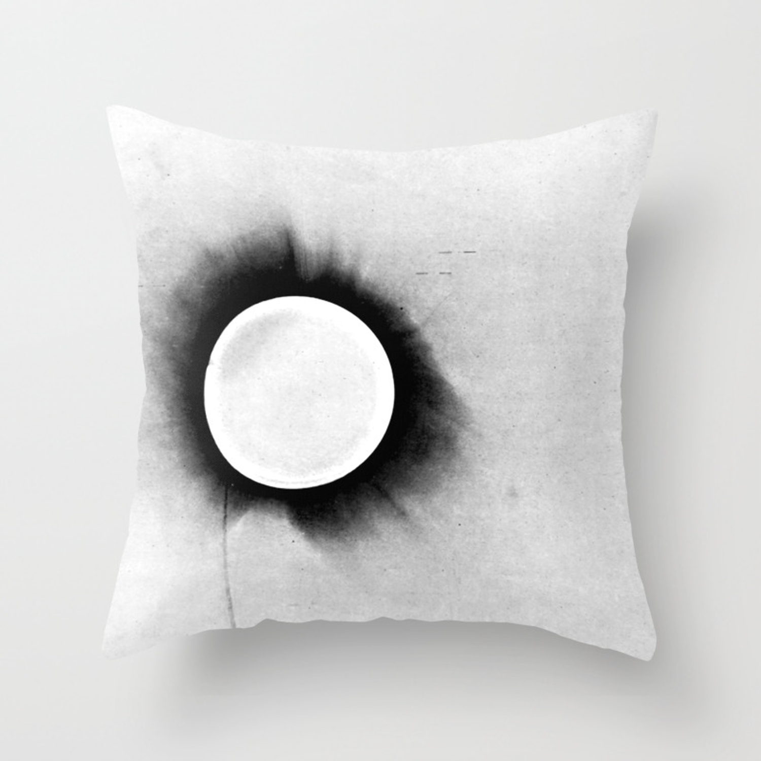1919 Solar Eclipse Throw Pillow By Ouijawedge Society6