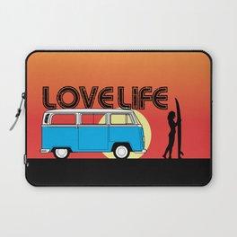 Love Life - Surf Van Laptop Sleeve