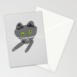 Mr Pepe le Quirky Cat Stationery Cards